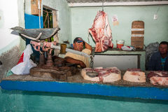 Butcher shop. Royalty Free Stock Photo