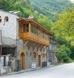 Butcher shop in Bachkovo - town in Rodopi in Bulgaria Stock Photos