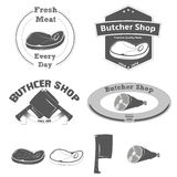 Butcher Shop Logo Royalty Free Stock Images