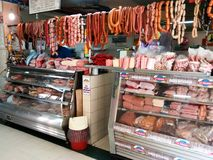 Butcher shop Royalty Free Stock Image