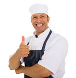 Butcher thumb up Stock Photos