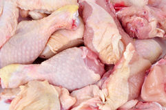Butchered chicken Royalty Free Stock Image