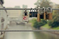 Butchers' Bridge in Ljubljana Royalty Free Stock Images