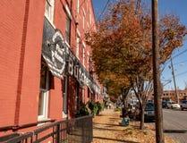 Butchertown - un distrito en Louisville fotos de archivo libres de regalías