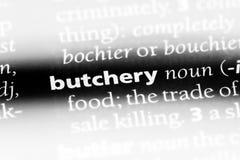 butchery royaltyfri bild