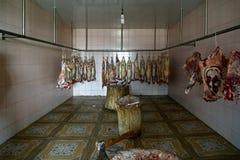 butchery royaltyfria bilder