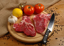 Butchery Stock Photo