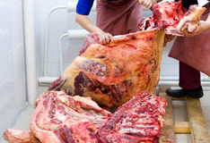 Butchery Stock Images