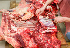 Butchery Royalty Free Stock Photo