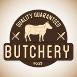 Butchery or butcher theme Stock Image