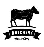 Butchery or butcher theme Royalty Free Stock Image