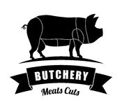 Butchery or butcher theme Stock Photography