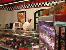 Butchery dział w supermarkecie. fotografia royalty free