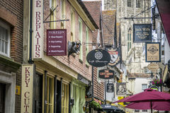 Butchery Lane, Canterbury, UK Royalty Free Stock Images