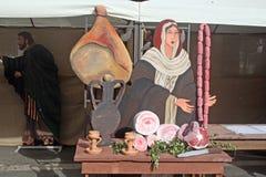 Butchery nativity Royalty Free Stock Photography
