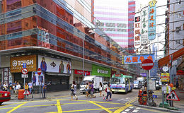 Bute street, mong kok, hong kong Stock Photo