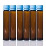 Buteleczka z szczepionką obrazy stock