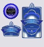 Butelek i butelki nakrętki etykietki Obraz Royalty Free