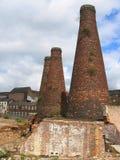 Butelek Kilns Fotografia Royalty Free
