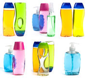 butelek kolażu mydło Fotografia Stock