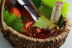 butelek korków wino Obraz Royalty Free