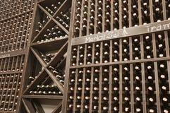 butelek lochu wino Obrazy Stock