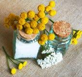 butelek składu soli morza zdrój Fotografia Stock