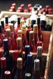 butelek skrzynka Fotografia Stock