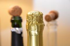 Butelek stoppers szampański przyjęcie Fotografia Stock