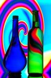 butelek sylwetki Obrazy Royalty Free