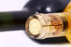 butelek szczegółu wino Obrazy Stock