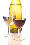 butelek szkła dwa Obraz Royalty Free