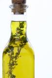 butelek ziele nafciana oliwka Obraz Stock