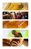 Buteljerar av wine Royaltyfria Foton