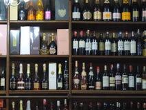 Buteljerar av wine Arkivfoton