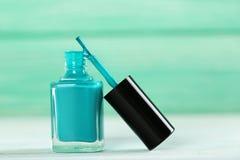 butelkę lakieru do paznokci Fotografia Stock