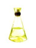butelkę perfum żółty Zdjęcie Royalty Free