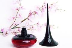 butelkę perfum siatek ciągnącego wektor ilustracyjny Obraz Royalty Free