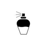 butelkę perfum siatek ciągnącego wektor ilustracyjny Eps-10 Zdjęcia Stock