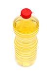 butelka biel ciekły plastikowy Zdjęcie Stock