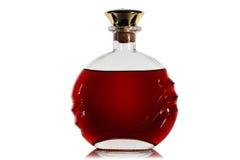 Butelka brandy. obrazy royalty free
