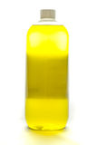 Butelka ciekły mydło fotografia stock