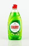Butelka Czarodziejski płuczkowy up ciecz Zieleń Jabłczanego sadu perfumowanie Obraz Royalty Free