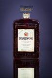 Butelka Disaronno flavoured alkoholu ajerkoniaka, zakończenie up Obraz Stock