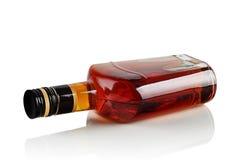 Butelka gorzała zdjęcie stock