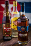 Butelka Hawański Świetlicowy rum Fotografia Royalty Free