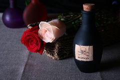 butelka jad Fotografia Stock