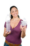 butelka klingeryt przetwarza Fotografia Stock