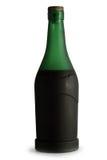 Butelka koniak. zdjęcia stock