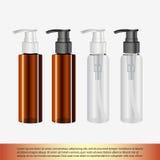 butelka kosmetyk Obrazy Stock
